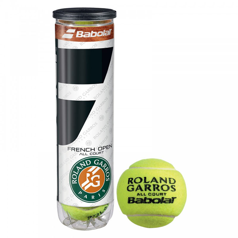 Open All Court,арт.502036 Мяч теннисный BABOLAT French Open All Court купить по цене 780 ₽